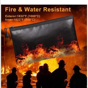 Fire/water resistant bags